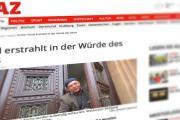 WAZ Artikel über die Restaurierung des Portal der Melanchthonkirche