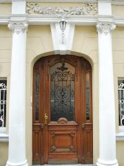 Haustür restauriert